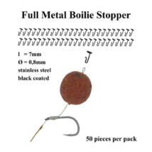 Poseidon - Full Metal boilie stopper (50db)