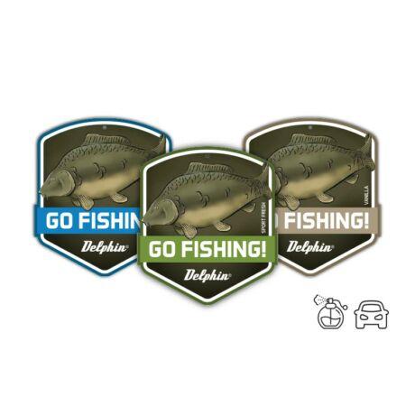 Autó illatosító GO FISHING! Carp