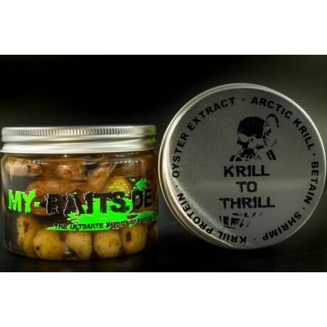 """My-Baits - Hi-Natural Black ´n White Tigers """"Krill to Thrill"""" 150 ml"""