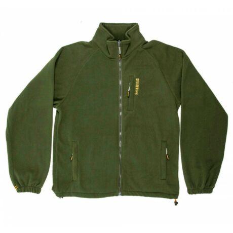 NAVITAS Atlas Zip Fleece Green férfi melegítő