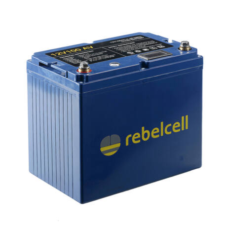 Rebelcell 12V 100A AV-AKKU Akkumulátor  + töltő