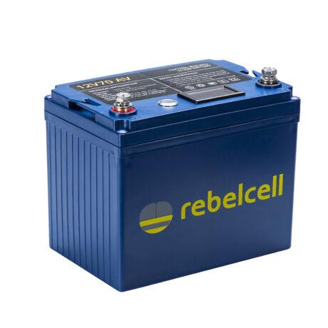 Rebelcell 12V 70A AV-AKKU Akkumulátor  + töltő