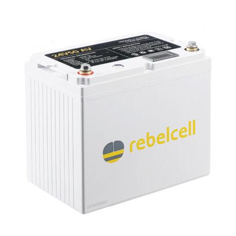Rebelcell 24V 50A AV-AKKU Akkumulátor  + töltő