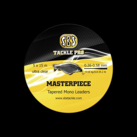 SBS Masterpiece Tapered Mono Leaders dobóelőtét zsinór